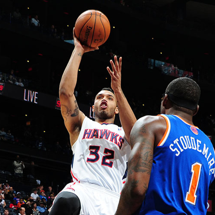 Mike Scott with a career high of 30 points in tonight's 107-98 comeback win agai