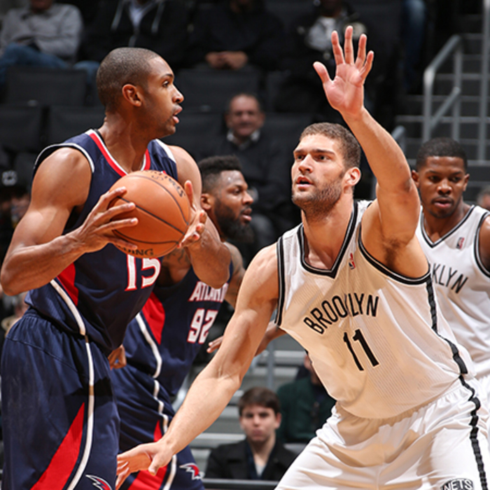 Hawks at Nets: March 17, 2013