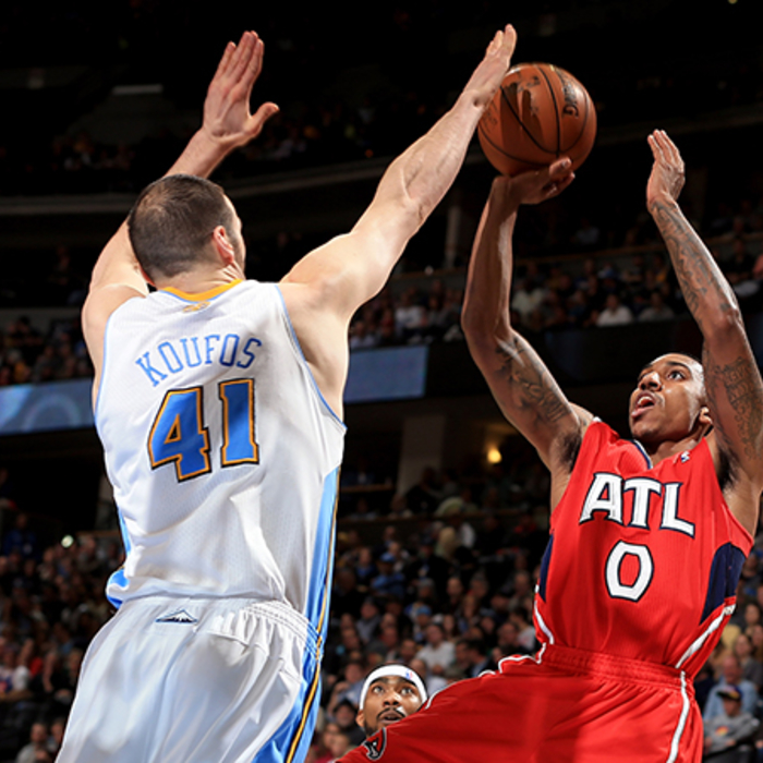 Hawks at Nuggets: March 4, 2013