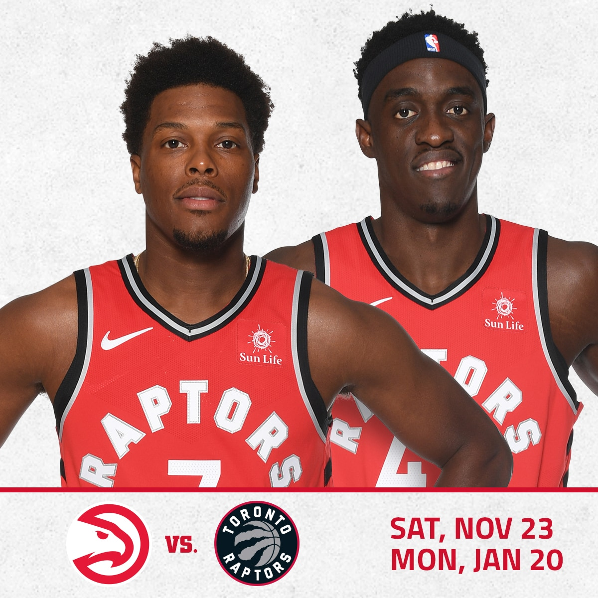 Hawks vs. Raptors