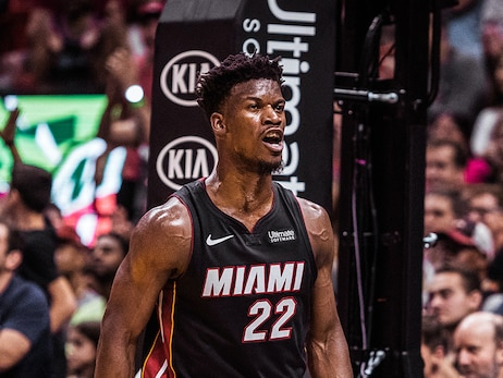 HEAT Annihilate Rockets In Historic Outing