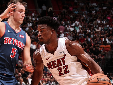 HEAT Hang On To Beat Pistons