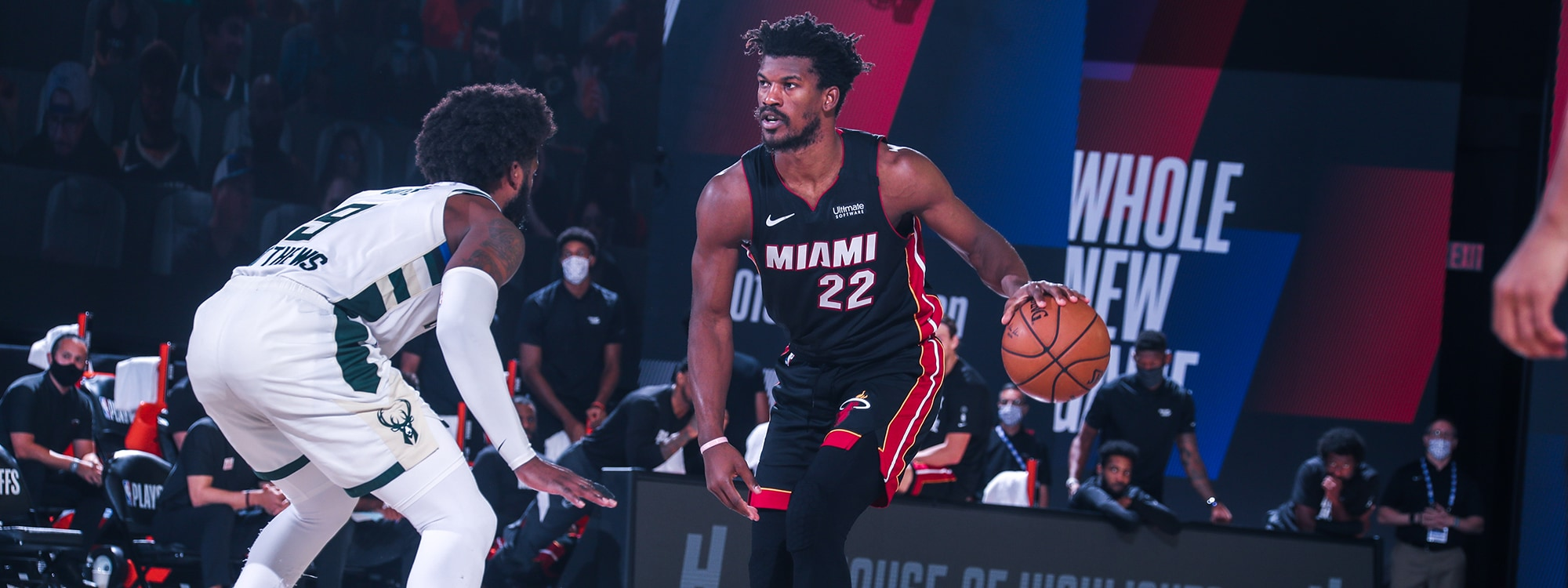 Heat Eliminate No 1 Seed Bucks Advance To Eastern Conference Finals Miami Heat