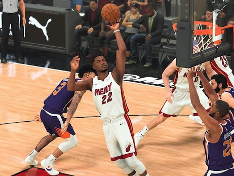 HEAT Storm Back, Defeat Suns In 2K Matchup