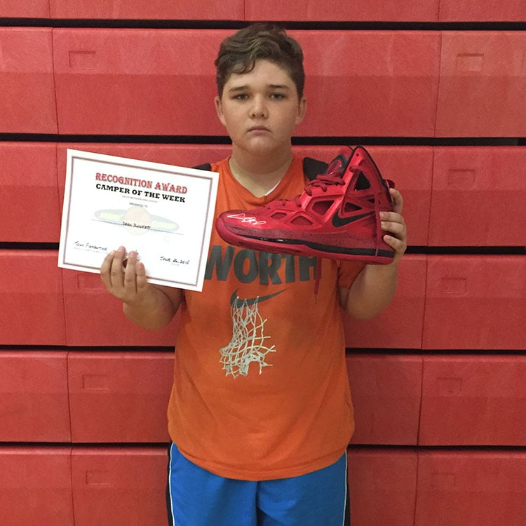 Camper of the Week: Sean Plunkett