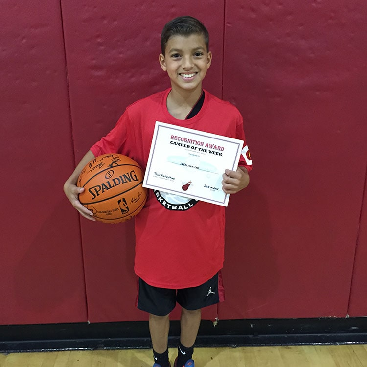 Camper of the Week: Sebastian Sao