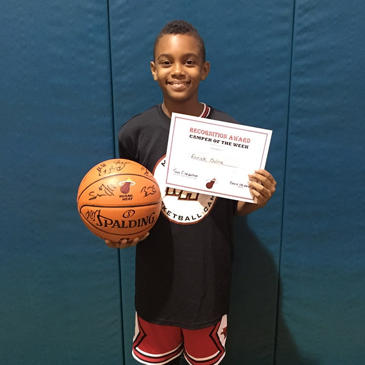 Camper of the Week: Enrick Oulna