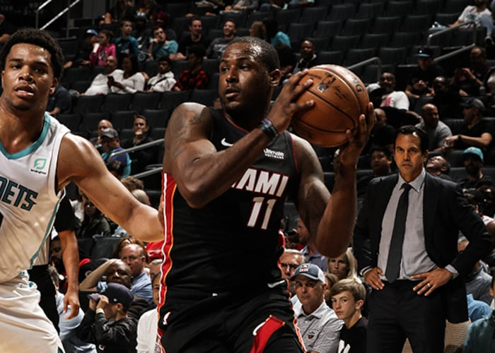 HEAT Dominate Early, Defeat Hornets 108-94