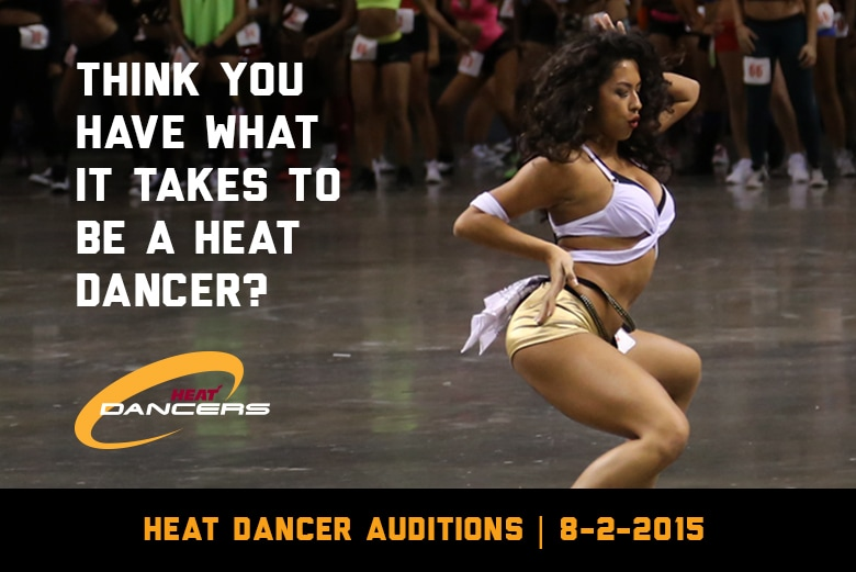 Think you have what it takes to be a HEAT Dancer?