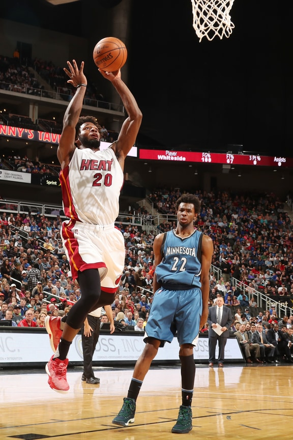 d1b79629fa Timberwolves vs HEAT Photo Gallery (10 8 16)
