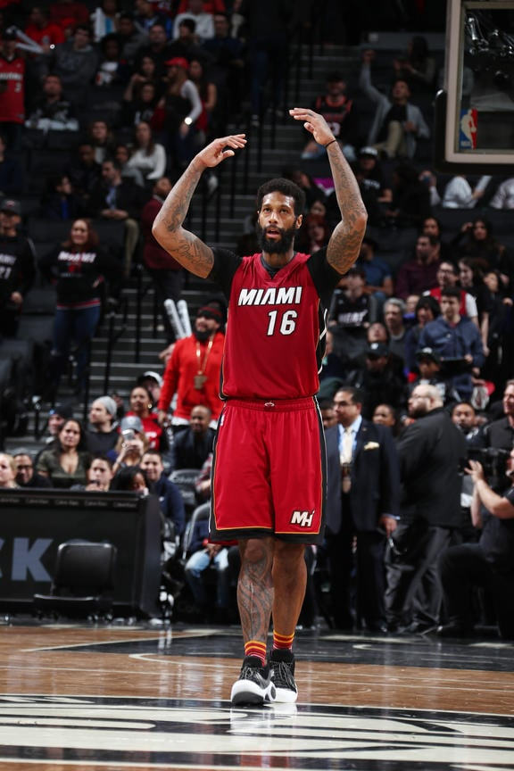 Player Spotlight James Johnson 2 13 17 Miami Heat