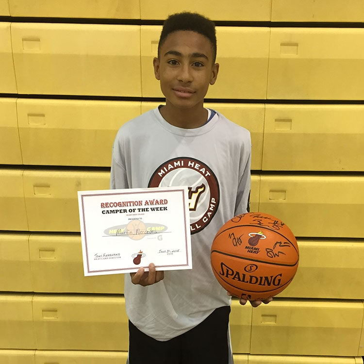 Camper of the week: Martin Mercedes