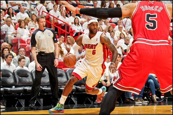 The Miami HEAT lost to the Chicago Bulls, 93-86, in Game 1 on Monday night at Am