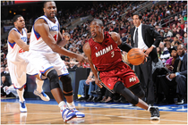 2009-10: HEAT at Sixers 02-16-10