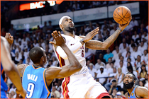 2011-12 White Hot Gallery: LeBron James