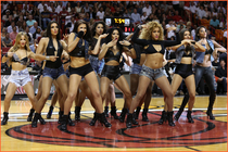 The Miami HEAT Dancers