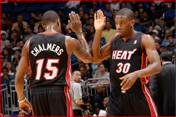 TIPOFF Magazine  Dynamic Duo Mario Chalmers and Norris Cole. HEAT 1175aeef8