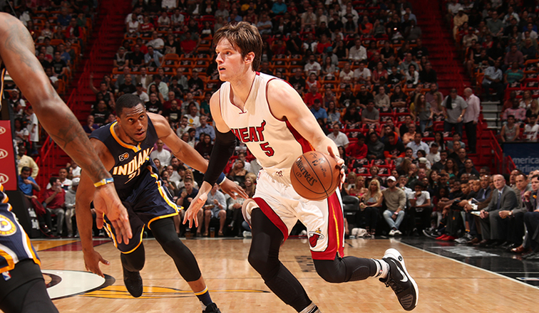 Heat trade for Luke Babbitt hours before National Basketball Association trade deadline