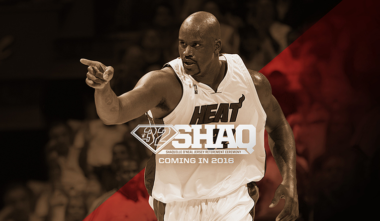 31d7457e9cf HEAT to Retire Shaquille O Neal s No. 32
