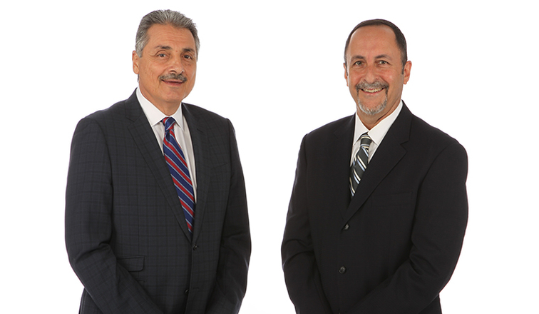 Tony Fiorentino and Eric Reid