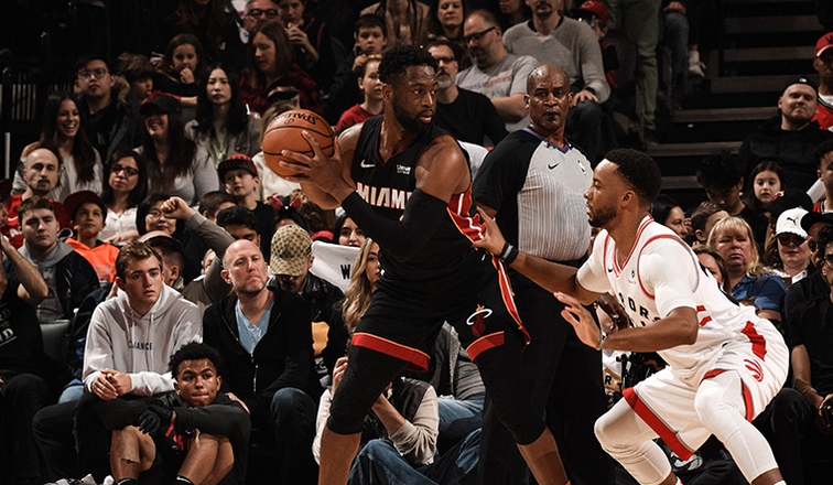 Heat play-off hopes take a hit with OT loss in Toronto