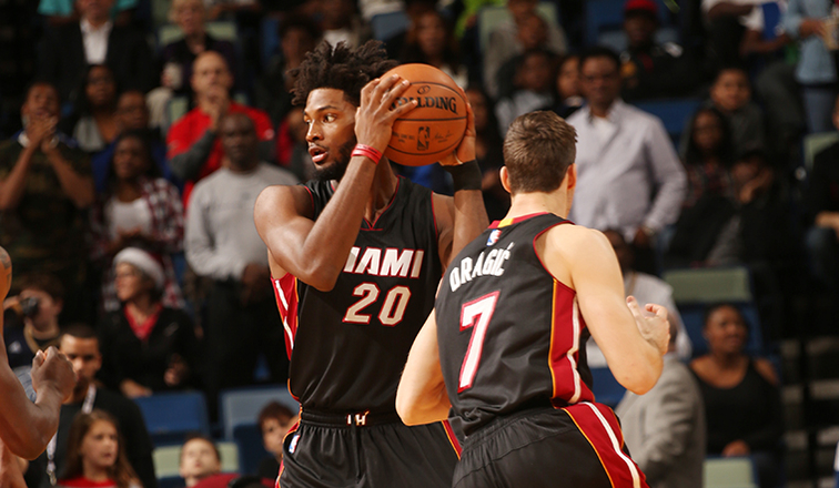 Heat pick up fourth-year option on F Winslow