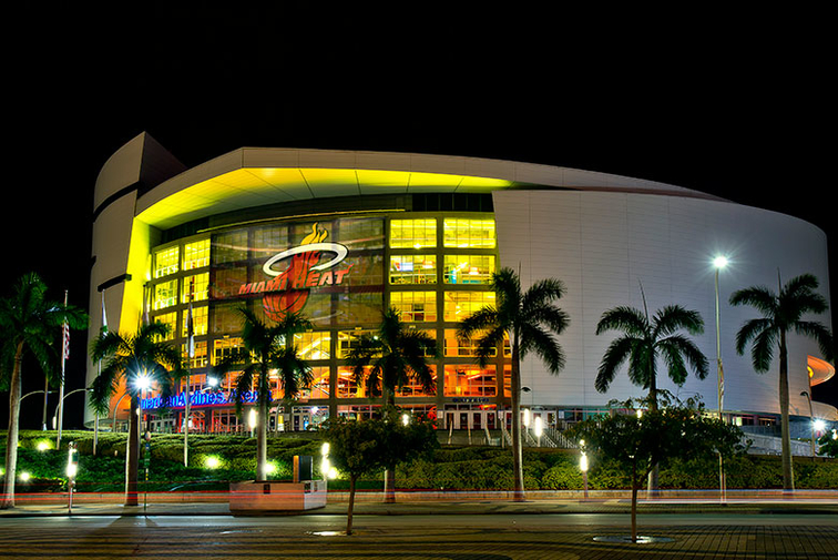 Americanairlines Arena Is World S First Sports