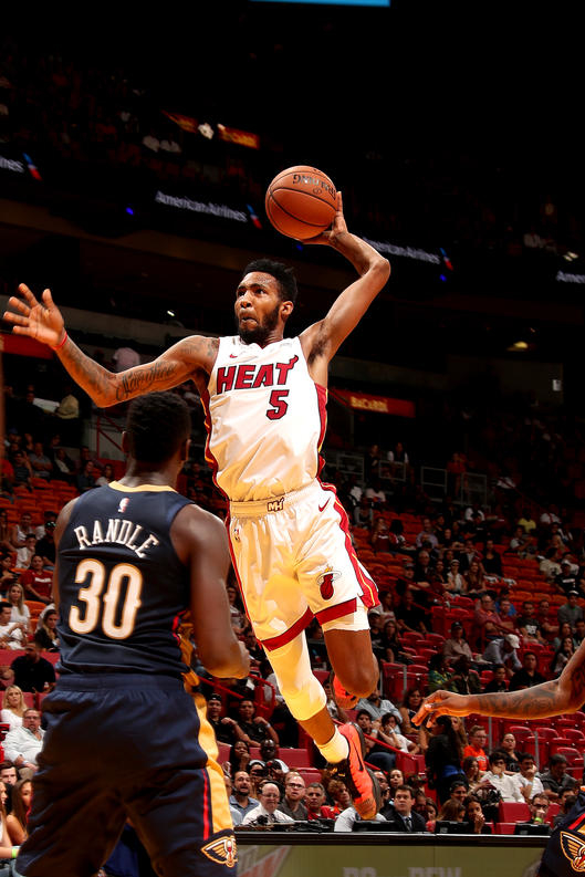 New Orleans Pelicans v Miami Heat