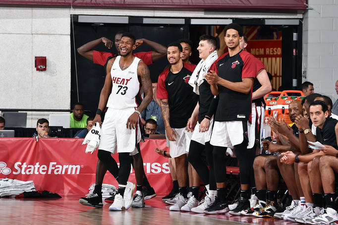 2019 Las Vegas Summer League - Day 3 - Utah Jazz v Miami HEAT