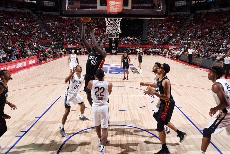 2019 Las Vegas Summer League - Miami HEAT v New Orleans Pelicans