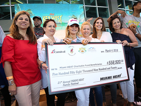 21st Annual Miami HEAT Family Festival Photo Gallery