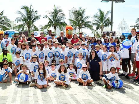 HEAT Surprise Students at Miami Beach JCC As Part Of