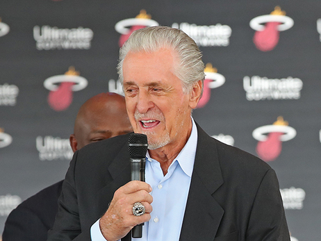 "Pat Riley: ""All Of Our Guys Are Working Their A** Off"""