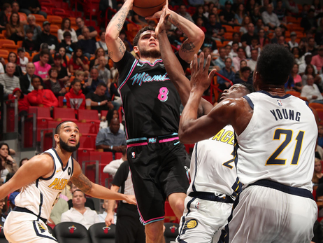 Pacers at HEAT Photo Gallery (2/2/19)