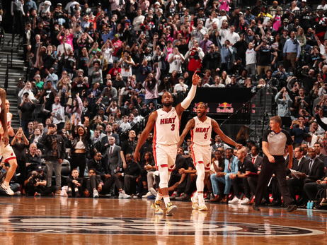 HEAT at Nets Photo Gallery (4/10/19)