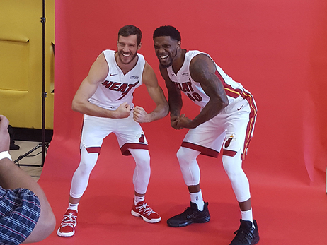 2017 HEAT Media Day Gallery