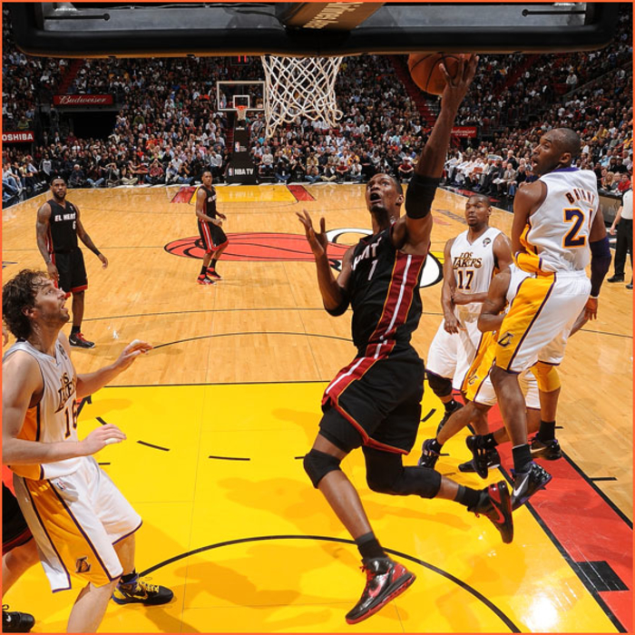 2010-11 Game Gallery: March 10, Lakers @ HEAT