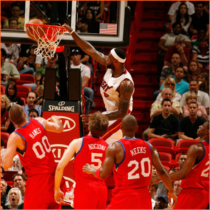 2010-11 Game Gallery: March 25, 76ers @ HEAT