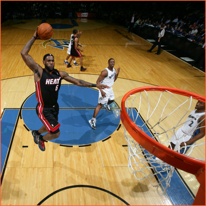 2010-11 Game Gallery: March 30, HEAT @ Wizards