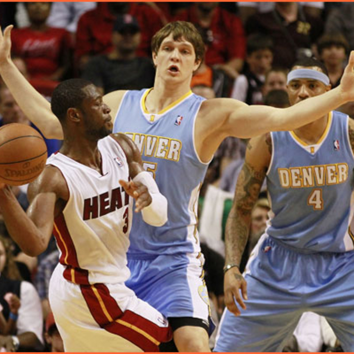 2010-11 Game Gallery: March 19, Nuggets @ HEAT