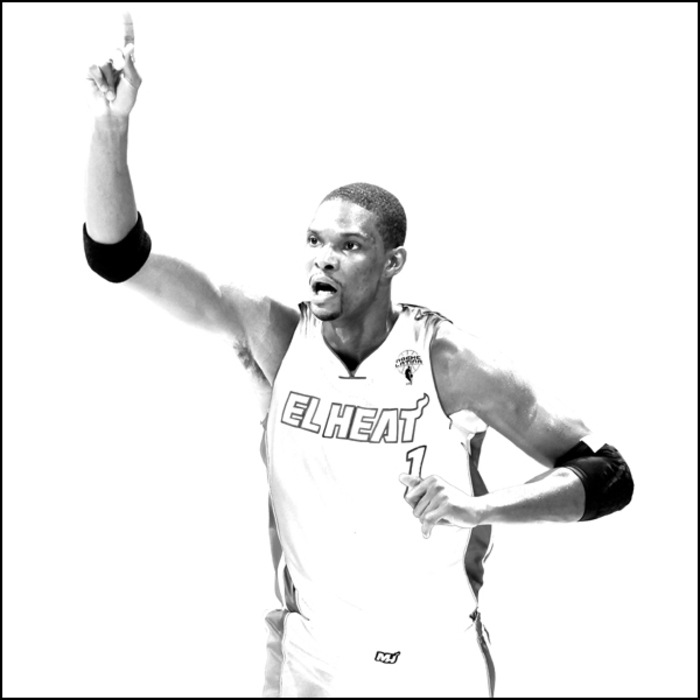 2010-11 White Hot HEAT Gallery: Chris Bosh