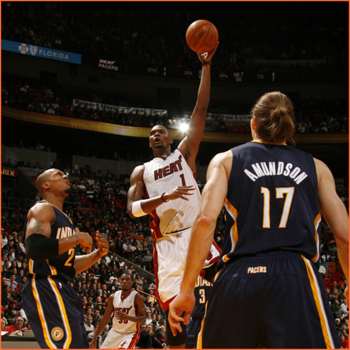 2011-12 Game Gallery: Pacers @ HEAT