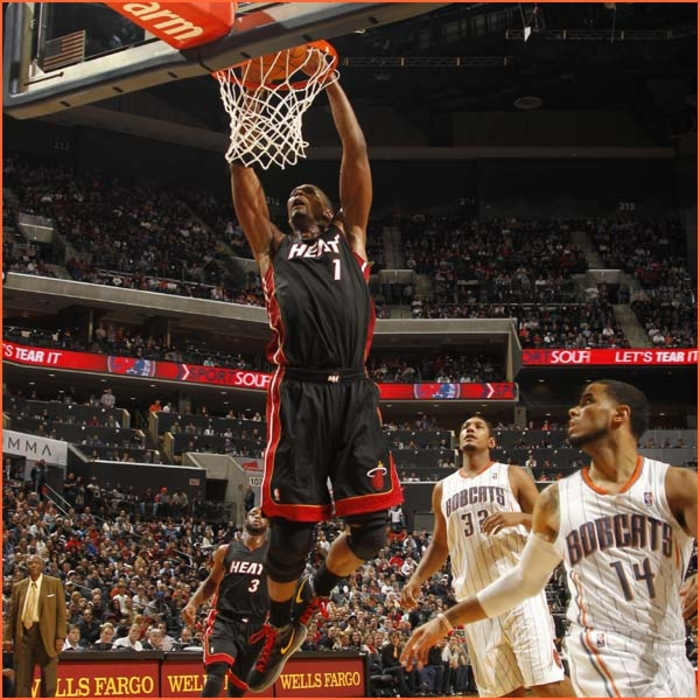 2011-12 Game Gallery: HEAT @ Bobcats