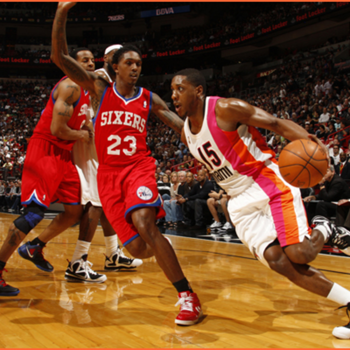 2011-12 Game Gallery: 76ers @ HEAT