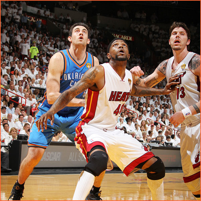 2011-12 White Hot Gallery: Udonis Haslem