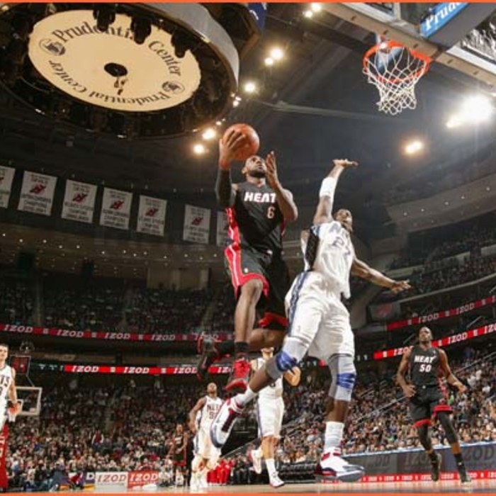 2011-12 Game Gallery: HEAT @ Nets