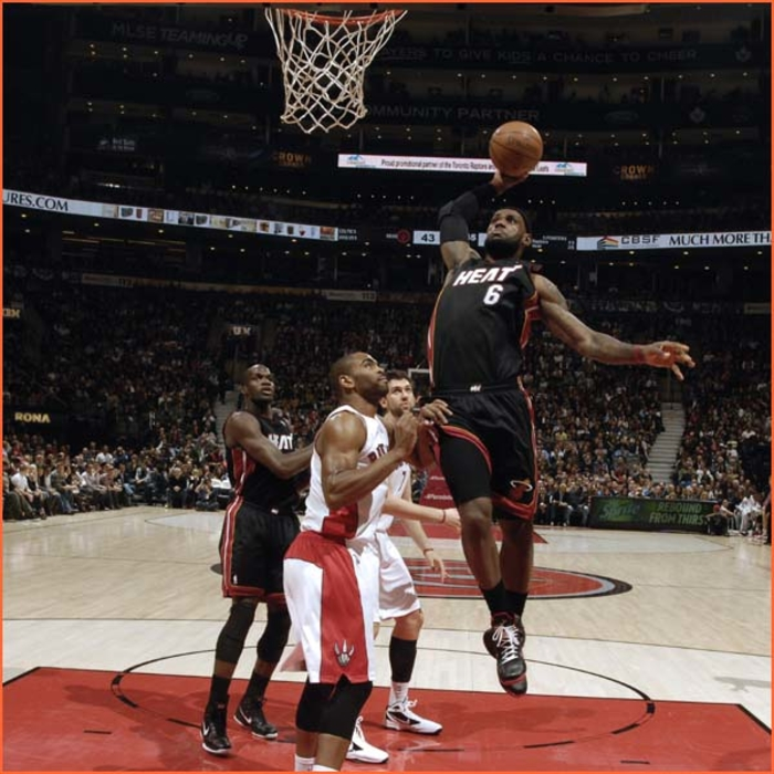 2011-12  Game Gallery: HEAT @ Raptors