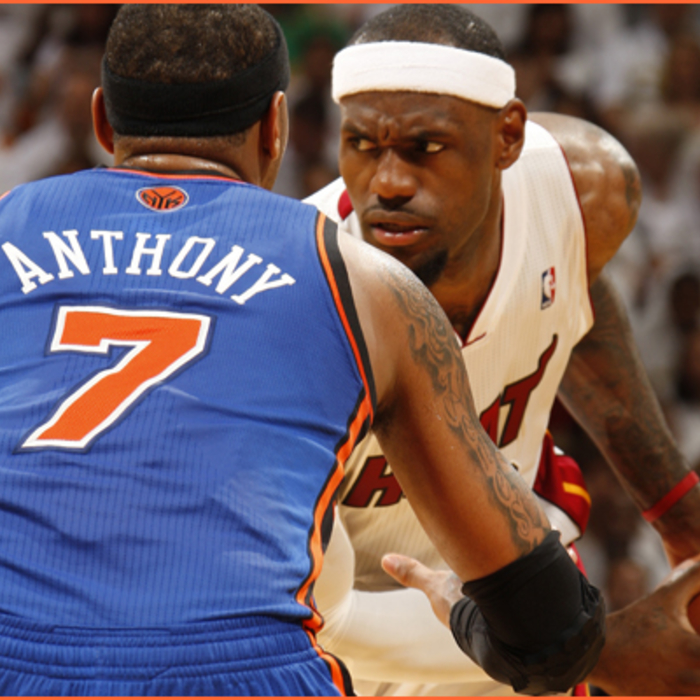 2011-12 Game Gallery: Knicks @ HEAT