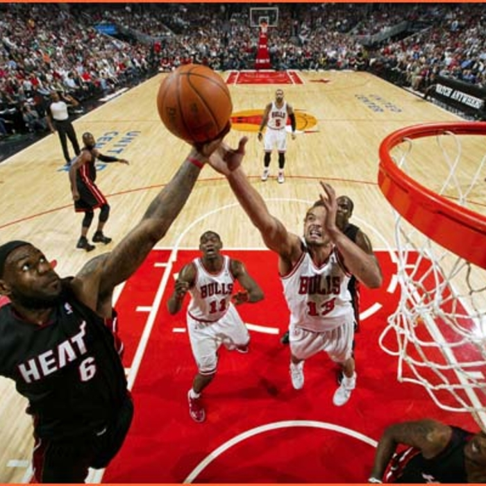 2011-12 Game Gallery: HEAT @ Bulls
