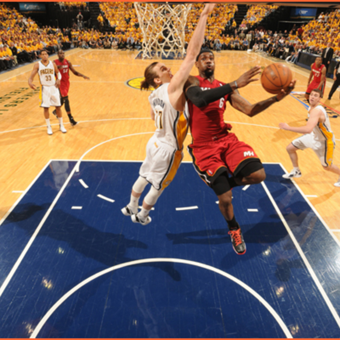 2011-12 Game Gallery: HEAT @ Pacers